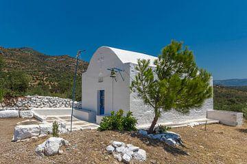 Kapel - Votsalakia - Samos van Rinus Lasschuyt Fotografie