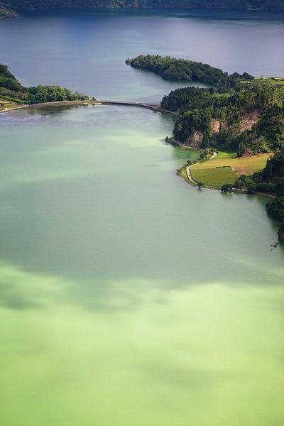 Lagoa das Sete Cidades sur Jan Brons