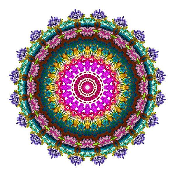 Mandala Farbenfroh von Marion Tenbergen