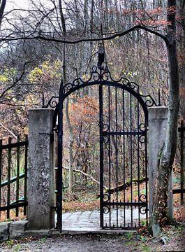 Friedhofstor van Ilona Picha-Höberth