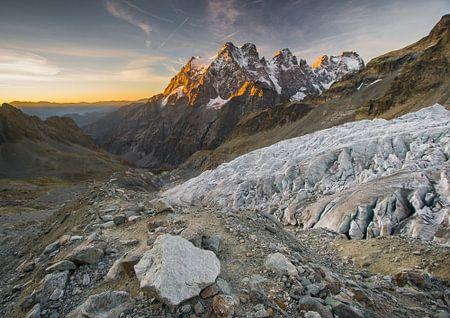 Mont Pelvoux - Massif des Ecrins sur Fabien DESBOIS