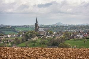Prachtig uitzicht op Vijlen en de Sint-Martinuskerk