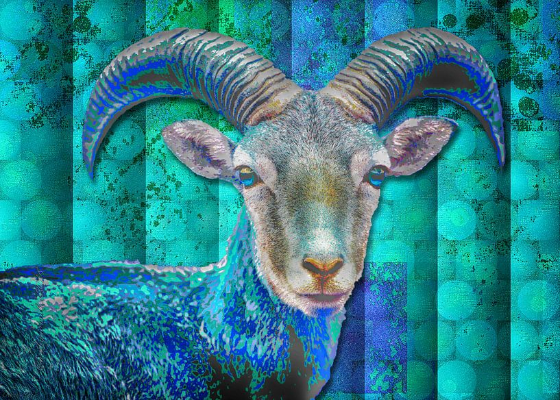 Billy Goat Blue von mimulux patricia no
