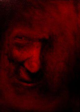 Rood gezicht.