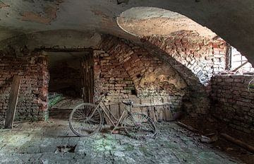 Verrostetes Fahrrad Urbex von Olivier Photography