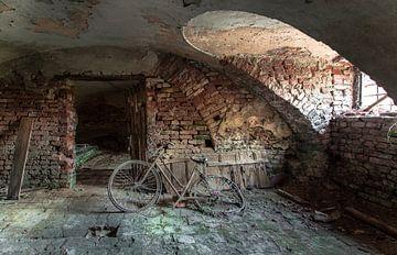 Verrostetes Fahrrad Urbex von Olivier Van Cauwelaert