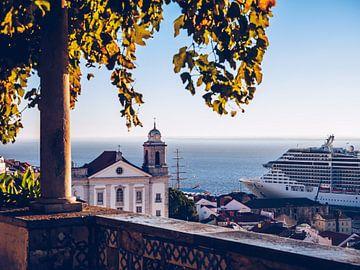 Lissabon – Miradouro de Santa Luzia von Alexander Voss