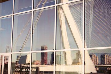 Erasmus-Brücke Rotterdam von Remco Nagtzaam