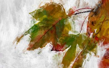 Herbstblätter van Roswitha Lorz