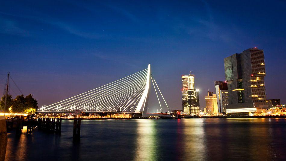 Rotterdam Skyline van Niels de Jong