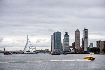 Skyline van Rotterdam van Jeroen van Eijndhoven
