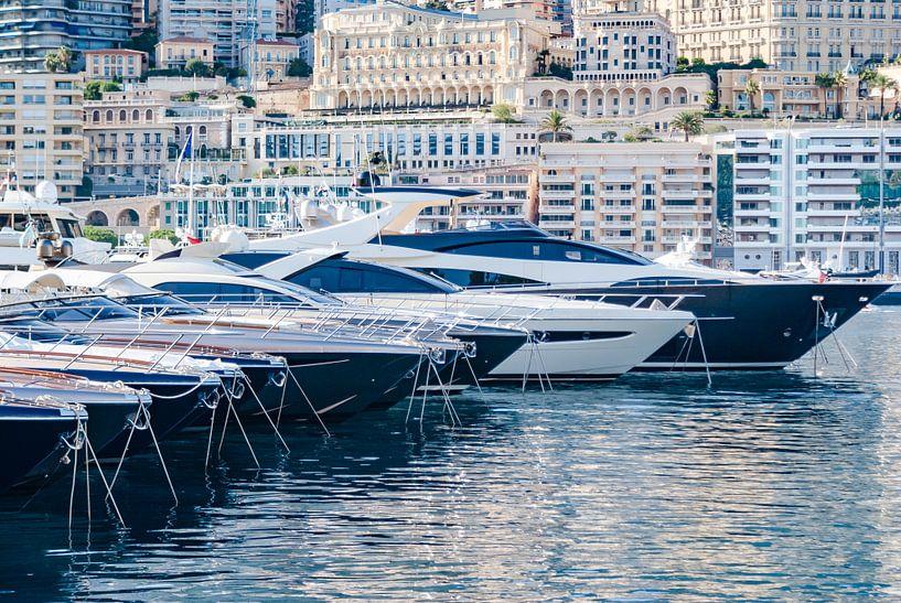 Monte Carlo haven, Monaco, France van Fotografiecor .nl