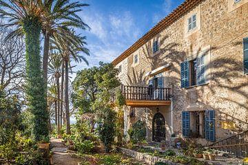 Garten und Herrenhaus Son Marroig auf Mallorca von Christian Müringer