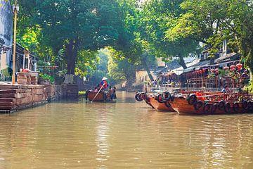 Gondelier in China van Anouschka Hendriks
