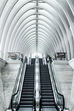 Hall de la gare sur Yannick Karnas