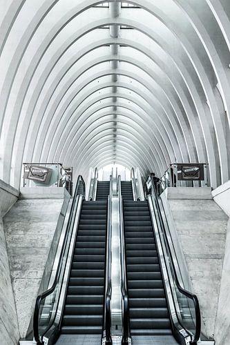Treinstation hal van Yannick Karnas
