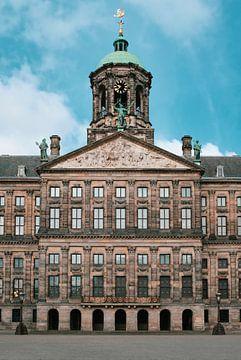 Le palais royal (hôtel de ville) sur la place Dam, Amsterdam