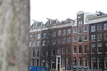Amsterdamse huizen von Charissa Oudejans