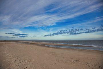 Zacht licht op het strand van Maurice van de Waarsenburg