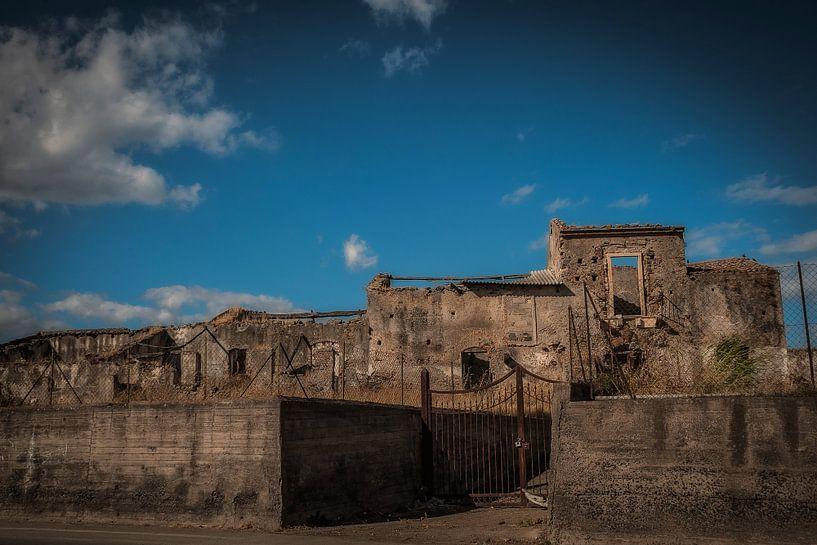 taormina sicilie fotoposter of  wanddecoratie van Edwin Hunter