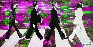 Die Beatles Grün von Kathleen Artist Fine Art