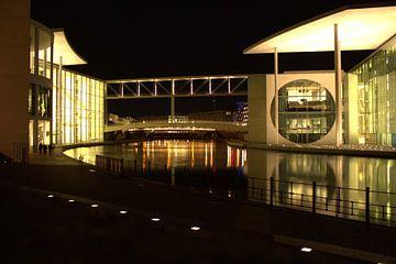 Berlijn in de nacht van Filippus Kiemel
