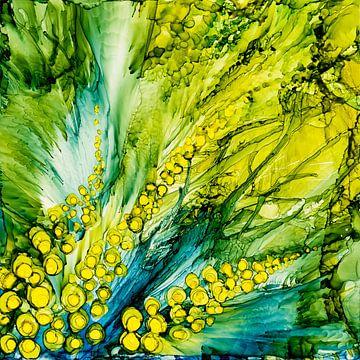 Blühende Wiese von Agnieszka Zietek