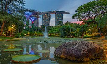 Hotel Marina Bay Sands, Singapur von Erik Noort