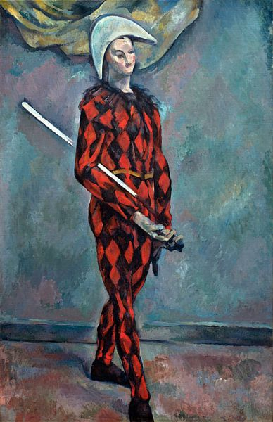 Harlekijn, Paul Cézanne van Liszt Collection