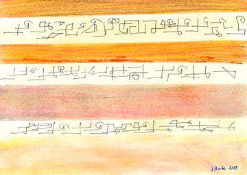 Unbekannter Papyrus von Johann Bucher