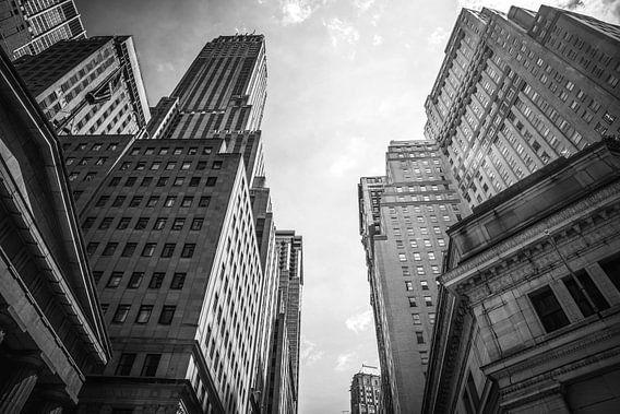 Wall Street wolkenkrabbers