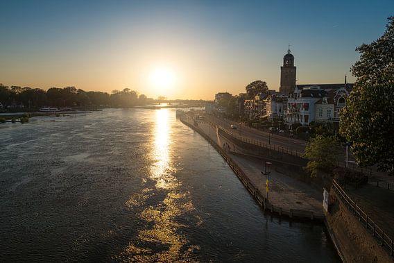 Deventer zonsondergang van Arjen Roos