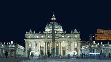 Sint Pieter Vaticaanstad sur Peter Moerman