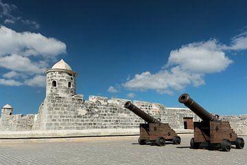Festung Castillo de San Salvador de la Punta im Havana, Cuba sur Marcel van den Bos