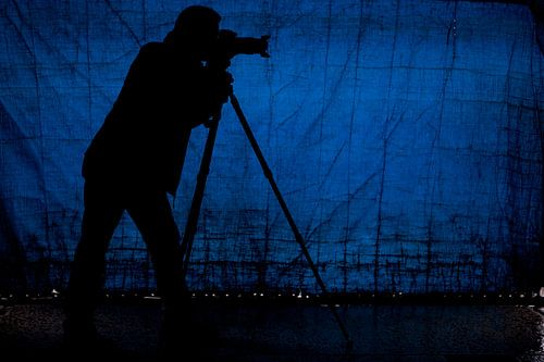 Fotograf bei der Arbeit von