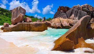 Anse Cocos, La Dique - Seychelles sur Van Oostrum Photography