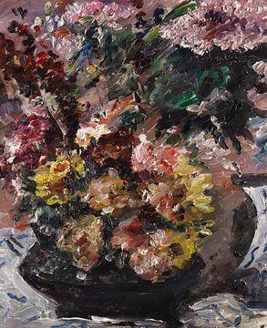 Blumen in einer Bronzevase, Stillleben, LOVIS CORINTH, 1923 von Atelier Liesjes