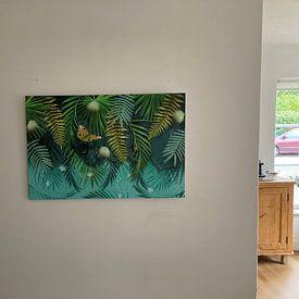 Kundenfoto: Grüner hängender Garten von True Nature Art, auf alu-dibond