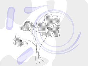 Digital Blumen