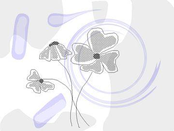 Digital Blumen  van