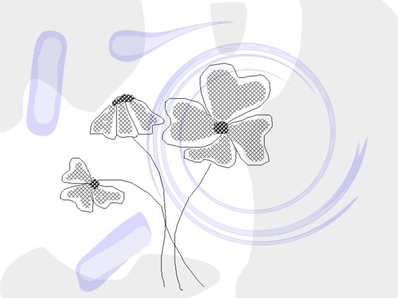 Digital Blumen  van Rosi Lorz