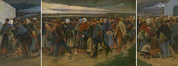 Auswanderer, Eugène Laermans von