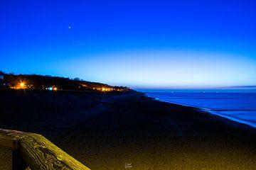 Strand (Blaue Stunde) von David Krause | Berlin