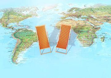 Urlaubsweltkarte von World Maps