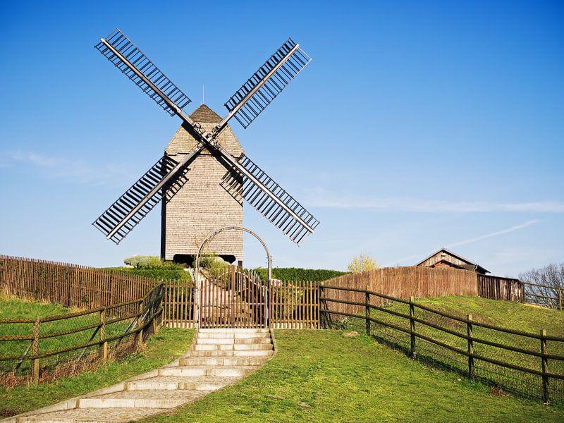 Berlin – Marzahn Windmill van Alexander Voss