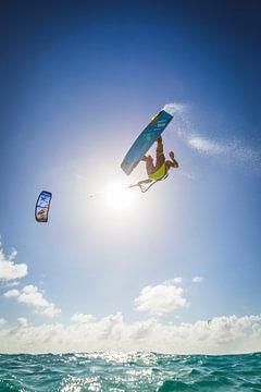 Kitesurf Bonaire Youri Zoon sur Andy Troy