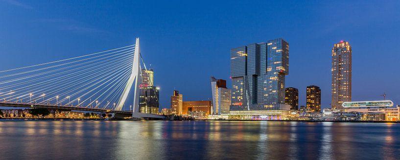 Skyline Rotterdam van William Linders