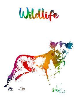 Löwenbaby von Printed Artings