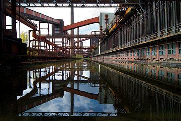 Voormalige fabriek Zollverein von Thomas Boelaars
