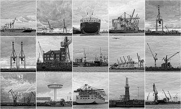 Hamburger Hafen von Tony Buijse